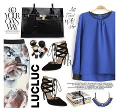 """""""LucLuc27"""" by kenguri ❤ liked on Polyvore featuring moda, Roni Kantor, Elizabeth Arden e lucluc"""