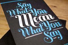 20 Creative Typography Postcard Printing - Best information for Web Designer and Web Developer | Best information for Web Designer and Web Developer