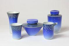 Jeremy Nichols salt glaze ceramics are a great collectors piece; choose from milk jugs, lidded pots, teapots and vessels.