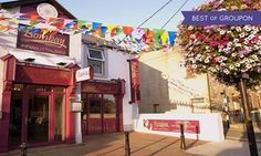Groupon - Two-Course Indian Meal with Wine or Beer for Two at Bombay Bistro in Rush, Co. Dublin. Groupon deal price: €32
