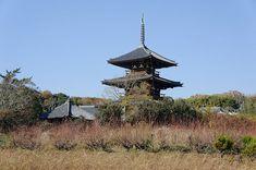法起寺(ほうきじ、ほっきじ)は、奈良県生駒郡斑鳩町岡本にある聖徳宗の寺院。古くは岡本寺、池後尼寺(いけじりにじ)とも呼ばれた。 Nihon, Gallery, Roof Rack
