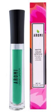 Part of our non-traditional liquid lipstick collection, this vibrant green matte liquid lipstick gives a lighter jade green lip.  This formula has a matte finish that lasts for hours!  This formula is formulated from scratch, handmade in our own laboratory, and is always vegan and cruelty-free.