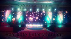 Indoor LED Stage Decor For Sangeet