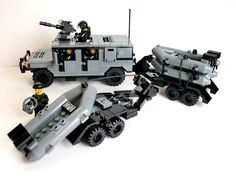 HMMWV Humvee & Zodiac Trailers