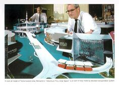 """Model for Disneyland's Tomorrowland 1967 - """"The World on the Move"""""""