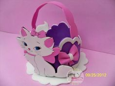 serve como lembrancinha. Cat Ideas, Marie Cat, Disney Cats, Cat Birthday, Birthday Ideas, Baby Shawer, Little Kitty, Aristocats, Ideas Para Fiestas