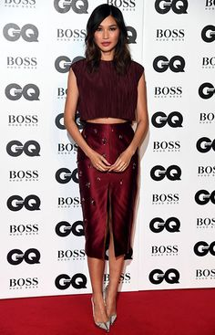 Gemma Chan at GQ Men of the Year Awards 2018 in London, Gemma Chan, Claudia Bartelle, Gq Awards, Gq Men, Hollywood, Famous Girls, Jason Wu, Red Carpet Fashion, Celebrity Style
