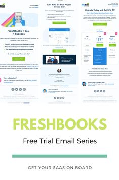 See the full onboarding email series from FreshBooks - SaaS email examples You Got This, Let It Be, Competitor Analysis, Trials, Success, Reading, How To Make, Inspiration, Biblical Inspiration