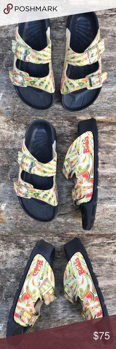 2 Pairs Of Birkenstocks Birkenstocks Birkenstock And Sandals