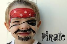 pirate face painting ideas for kids - Google Search