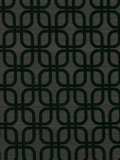Black and Gray Upholstery Fabric by greenapplefabrics on Etsy, $39.00