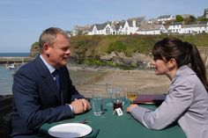 Doc Martin and Louisa on a date