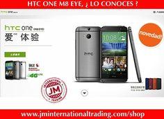 HTC ONE M8 EYE, ¿ LO CONOCES ?  En China aparece un HTC One M8 Eye con cámara de 13 MPX.  Este terminal tiene las mismas características técnicas del HTC One M8, a excepción de su cámara trasera.  Con la incorporación de esta cámara, HTC deja olvidada la tecnología UltraPíxel.  Su precio, en China, es de 3.999 yuanes ( 652 dólares ).