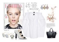 """Stylish Flare"" by freida-adams ❤ liked on Polyvore featuring Polaroid and J.W. Anderson"