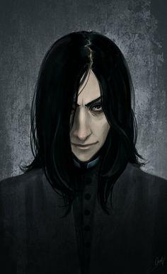 Snape again by ~LiaBatman