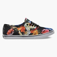 8372aee94710 VANS Floral Authentic Lo Pro Womens Shoes 245275149