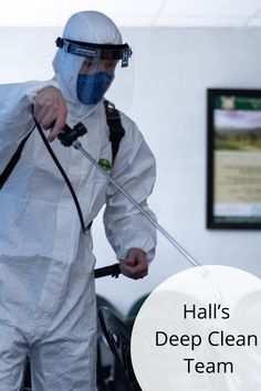 We pride ourselves on delivering superior cleaning and hygiene solutions and as such we have launched the Hall's Deep Clean Team; a mobile unit that will thoroughly sanitize your office, factory or warehouse using the highest-grade Hall's cleaning products to ensure the stringent COVID-19 regulations are met.  Here's what you need to know: Deep Cleaning, Cleaning Hacks, Diy Store, Cleaning Products, Warehouse, Pride, The Unit, Magazine, Barn