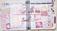 PlanWithMe SweetLife | Pretty Easy Planning Sweet Life, My Etsy Shop, How To Plan, Videos, Pretty, Easy, Dolce Vita
