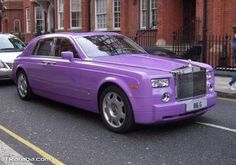 Rolls-Royce Purple Phantom