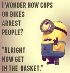 Minion memes are renowned world wide ad this is the reason we have brought these memes for you to make your out of nowhere. we collected laughing bundle of of ? Here are Minion memes police Funny Minion Pictures, Funny Minion Memes, Minions Quotes, Funny Texts, Funny Jokes, Minion Humor, Funny Shirts, Hilarious Quotes, Epic Texts