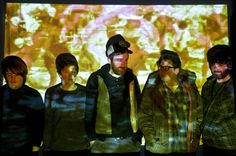 """Hookworms """"This Leeds band, who want to be known by their initials, throw some Loop, Spacemen 3 and early Verve into their untamed mix"""" Listen to their debut record here:  http://www.spin.com/articles/hookworms-pearl-mystic-weird-world-album-stream/"""