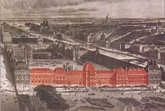PARIS — The destroyed Tuileries Palace, once home to French kings and emperors, could be rebuilt after the French government formed a commission of eminent historians and politicians to draw plans for its restoration.
