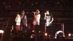 The boys on stage // Sydney, Australia // 07-02-15