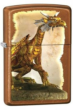 Zippo Lighter: Fantasy Dragon - Toffee - Toffee Finish Includes the world famous Zippo Lifetime GuaranteeZippo Lighter: Fantasy Dragon - Toffee 77250 - Toffee Finish Includes the world famous Zippo Lifetime Guarantee Fantasy Dragon, Zippo Lighter, Toffee, Moose Art, Auction, Retro, Maxime, Fire, Animals