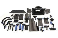 Complete universal camera rig bundle for DSLR cameras