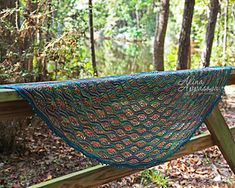 Gardens of Giverny Shawl is now available in rectangular version Gardens of Giverny Stole.