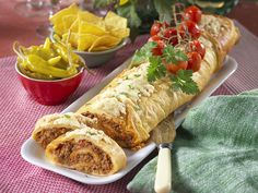 Mexican Food Recipes, Snack Recipes, Cooking Recipes, Ethnic Recipes, Wrap Sandwiches, Beef Dishes, Tex Mex, Freezer Meals, Fresh Rolls