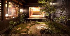 Exterior Design, Aquarium, Floor Plans, Home And Garden, Buddha, Flooring, Statue, Interior, House