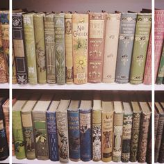 Crumbly, But Good - ohhellopoetry: Beautiful vintage spines… ⭐️ Old Books, Antique Books, Vintage Books, Vintage Stuff, Hello Poetry, Book Cupcakes, Prop House, British Books, Book Spine
