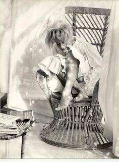 Monica Vitti by Helmut Newton
