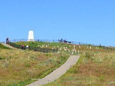 Custers Battlefield Monument.