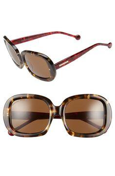 Jonathan Adler 'Capri' 55mm Square Sunglasses