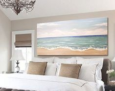 """Sale huge size Original Textured Abstract Contemporary seascape Painting on canvas. """"Huge seascape1"""""""