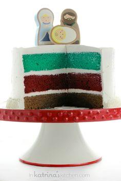 Nativity Cake Recipe
