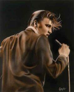 Elvis SInging Elvis Presley the King of Rock and Roll Elvis Presley Hair, Elvis Presley Images, Elvis Presley Movies, Rock And Roll, Elvis Sings, Graceland Elvis, Idole, Memphis Tennessee, Thats The Way