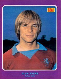 Alun Evans Aston Villa 1973