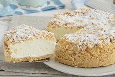 Gâteau crumble au mascarpone Sweet Recipes, Cake Recipes, Dessert Recipes, Cooking Cookies, Italian Cake, Plum Cake, Cookies Et Biscuits, Something Sweet, Latte