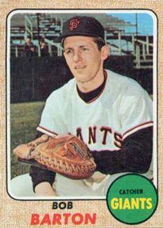351 - Bob Barton - San Francisco Giants