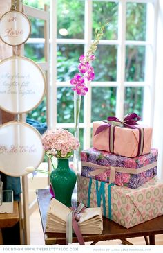 cape town decor shop 025 Chic & Elegant Bridal Shower {Inspiration} http://www.theprettyblog.com/category/be-inspired/kitchen-tea-be-inspired/