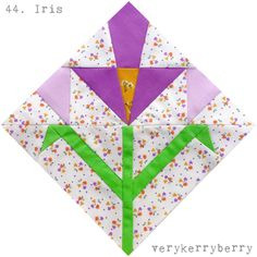 verykerryberry: Farmer's Wife QAL Blocks 43 and 44: Hope and Iris
