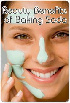 Benefits of Baking Soda for Beauty. E.g. It can whiten teeth and be used to make #Exfoliating Scrubs
