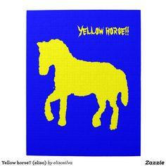 Yellow horse!! (eliso) puzzles con fotos