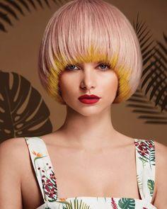 29417477_1788408714799729_6167544518473154560_n Remy Human Hair, Human Hair Wigs, Short Hair Cuts, Short Hair Styles, Pageboy Haircut, Mushroom Hair, Aqua Hair, Halo Hair, Coloured Hair