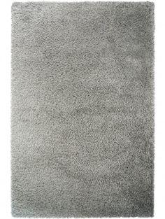 Tappeto pelo lungo Sophie Grigio 200x200 cm
