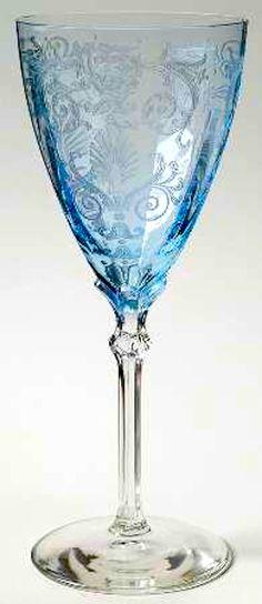 """""""Versailles Blue"""" from Fostoria"""