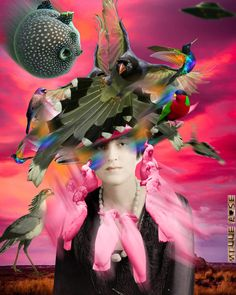 Some more outstanding work from Mille Rose ~ Collage Art Mixed Media Artwork, Montages, Psychedelic Art, Vaporwave, Digital Media, Cool Artwork, Trippy, Collage Art, Paper Art